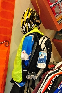 自転車用リュック デイバッグ