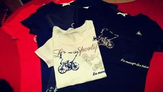 ルコック 自転車 Tシャツ