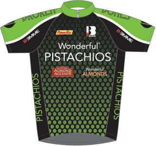 チームジャージ 2012 Wonderful Pistachios