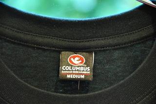 コロンバス Tシャツ