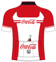 コカ・コーラ 自転車 サイクルジャージ